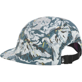 The North Face Liberty 5 Panel Casquette Femme, TNF white liberty print